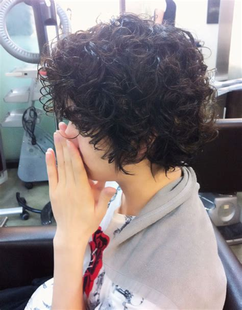 curly perm before and after short haircuts heechul s new hair style milkroll
