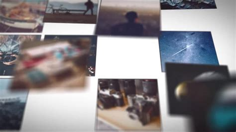 Mosaic Picture Slideshow After Effects Templates Motion Array After Effects Montage Template