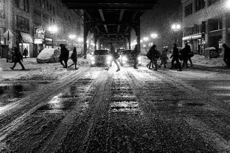 imagenes invierno blanco y negro fondo de pantalla de invierno nieve noche luces en