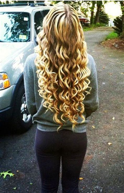 hair styles with bubble wand loose wand curls tumblr www imgkid com the image kid