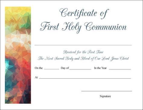 free printable baptism, first communion, and confirmation