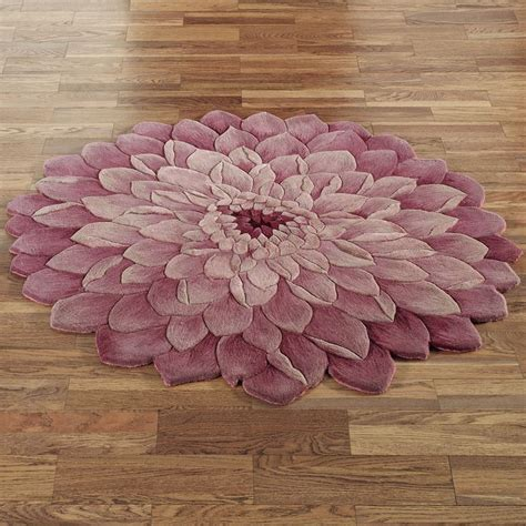 flower of rug adilyn flower shaped rug blooming rugs
