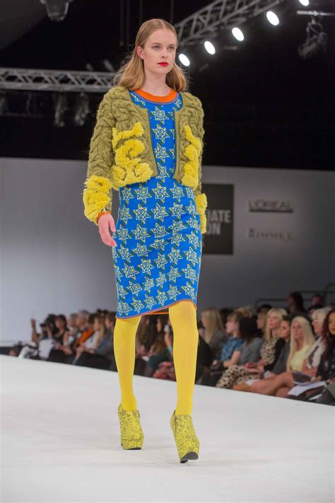 knitwear design competition nottingham trent student wins top knitwear award