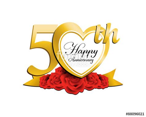 Wedding Wishes Logo by Quot Wedding Anniversary Logo 50 Quot Stock Image And