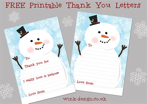printable thank you letters free printable christmas thank you letters daisies pie
