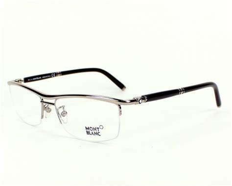 lunettes de vue mont blanc mb485u 012 57 visionet