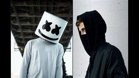 marshmello vs alan walker alan walker vs marshmello alone mashup youtube