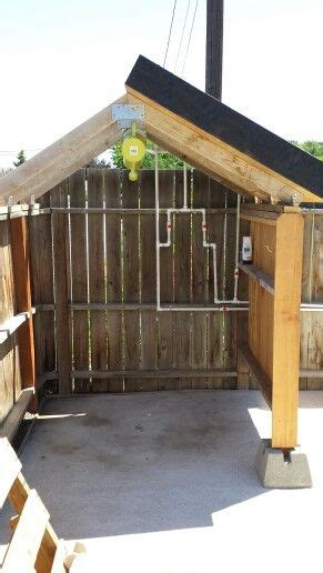 heated outdoor shower 17 best images about outdoor shower on
