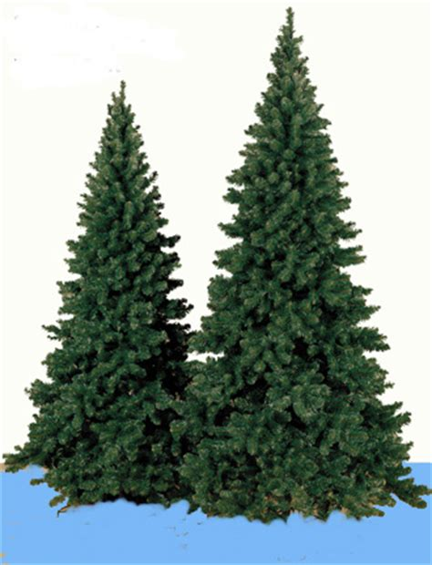 artificial prelit oregon fir christmas trees niche gifts com