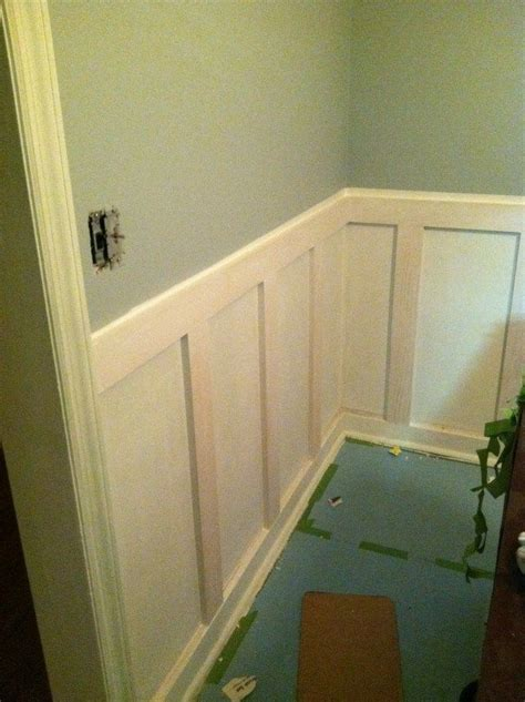 Diy Wainscoting Bathroom by How To Diy Wainscoting Dining Room And Wainscoting