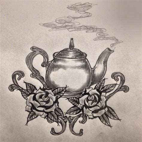 teapot tattoo designs 1000 ideas about teapot on teacup