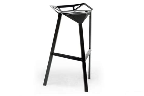 Kmart Bar Stool Set by Baxton Studio Kaysa Black Aluminum Modern Bar Stool Set