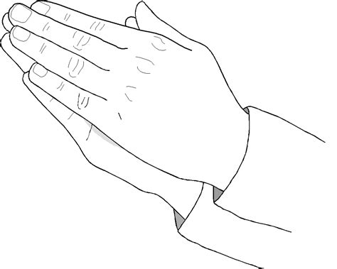 coloring page praying hands coloring page praying hands