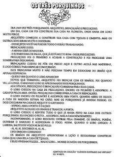 OS TRÊS PORQUINHOS 60 ATIVIDADES CONTOS DE FADAS HISTÓRIAS