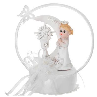 figurine premier communion fille pour décoration de table