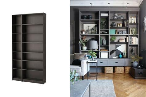 libreria billy ikea colori las mejores transformaciones de los muebles de ikea