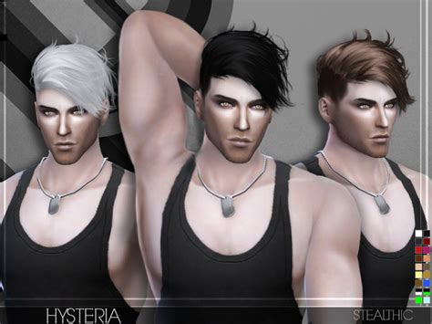 the sims resource stealthic captivated hair sims 4 hysteria male hair by stealthic at tsr 187 sims 4 updates