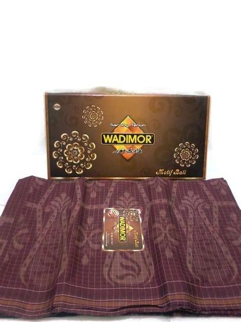 Sarung Wadimor Bali Grosir Berkualitas jual sarung wadimor motif bali aneka pilihan warna baru sarung pria murah berkualitas