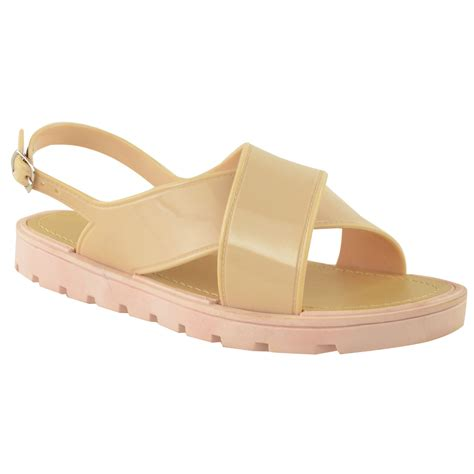 jelly sandals for womens womens summer jelly sandals ankle slingback