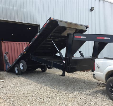 tilt bed trailers hydraulic tilt bed container delivery trailers