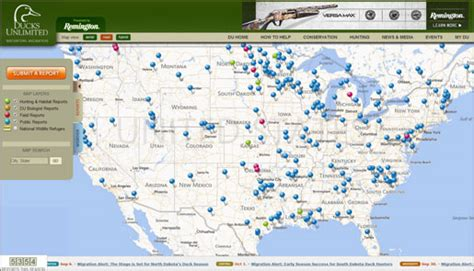 duck migration map ducks unlimited migration map my
