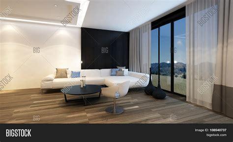 Cozy Corner Living Room Night Image & Photo Bigstock