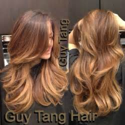 caramel chocolate hair color chocolate caramel ombre by tang i m obsessed with