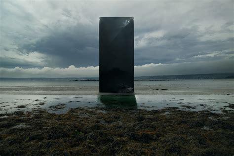 monolithic kubrick inspired digital art prints  tim