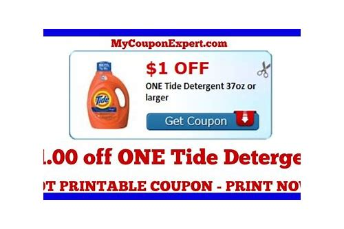 coupon tide detergent printable