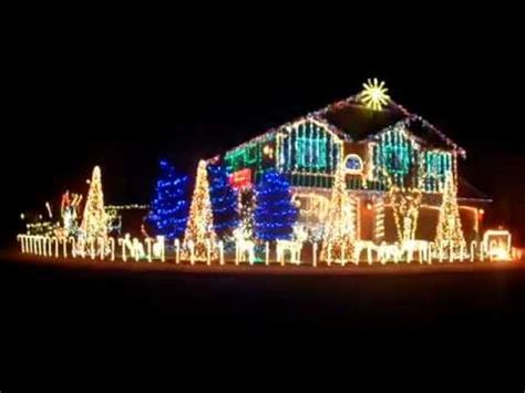 awesome dubstep christmas lights youtube