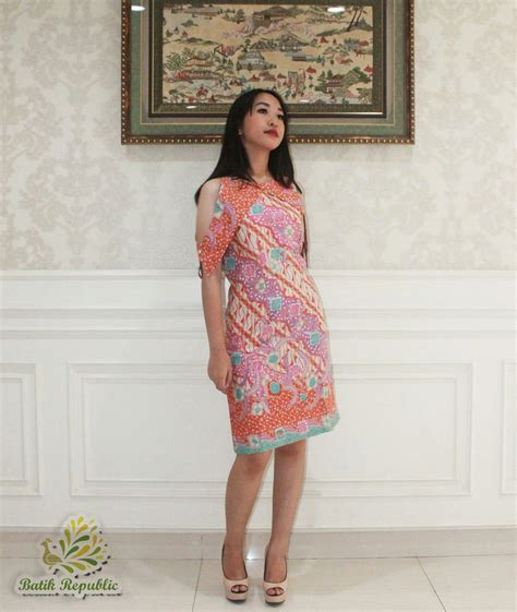 Dress Batik batik dress batik republic order by wa