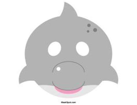 printable dolphin mask mask template dolphins and masks on pinterest