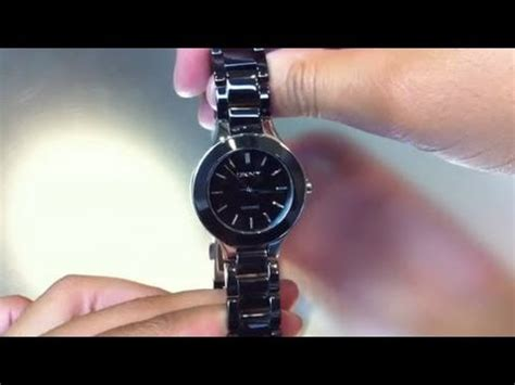 Women's DKNY Black Ceramic Watch NY4887   YouTube