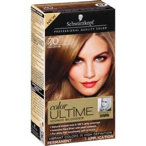 hair color walmart schwarzkopf color ultime iconic hair coloring kit