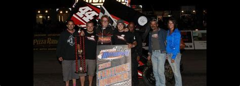 martin thompson and schriever win feature at jackson