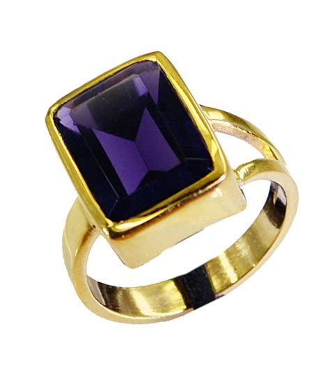 riyo unique amethyst cz ring buy riyo unique amethyst cz