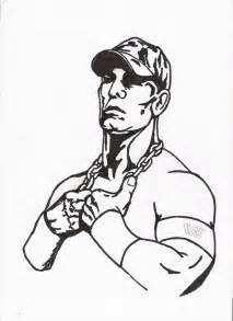 john cena coloring pages printable coloring home