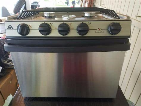 rv cooktop atwood high output wedgewood stainless stove rv cer