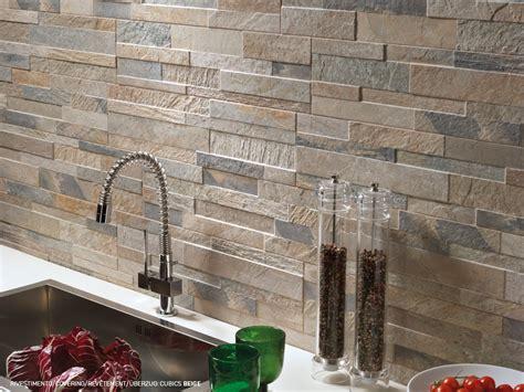 piastrelle in ceramica gres effetto pietra per rivestimento a parete cubics