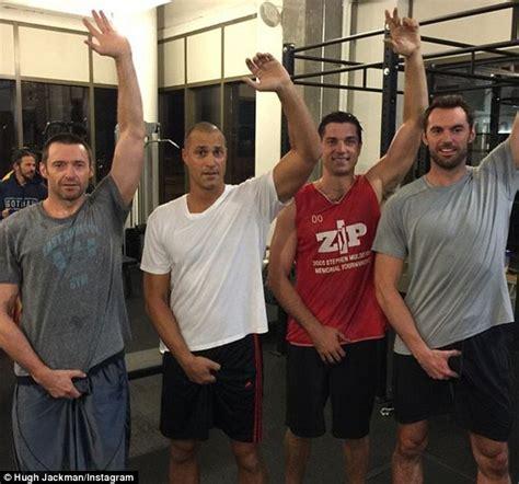 Cubs Bench Hugh Jackman Grabs His Crotch As He Joins Viral Online