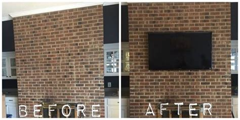 Mount Tv On Brick Fireplace by Kevin S Handy Services Virginia Brick Fireplace