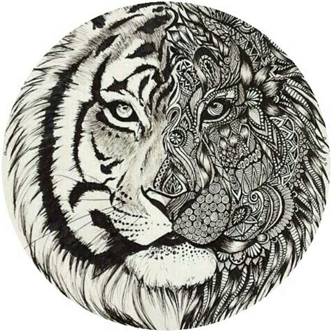 detailed lion coloring pages adult tiger coloring page colorings pages pinterest