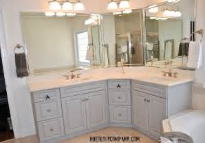 painting bathroom cabinets master  painting bathroom cabinets master bath makeover hueology studio