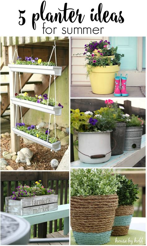 5 planter ideas for summer house by hoff