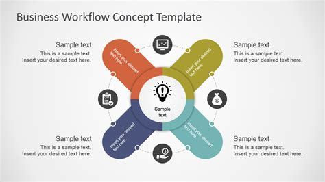 workflow concepts powerpoint templates business concepts images powerpoint