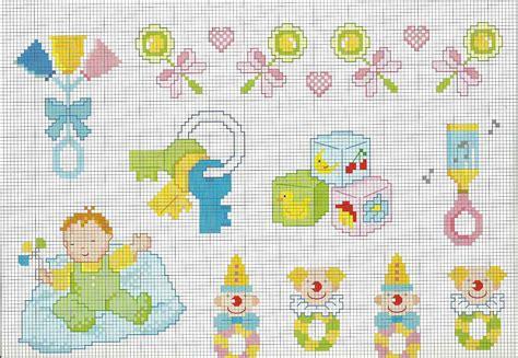 copertina punto croce schemi punto croce idee copertina beb 232 con sonaglini