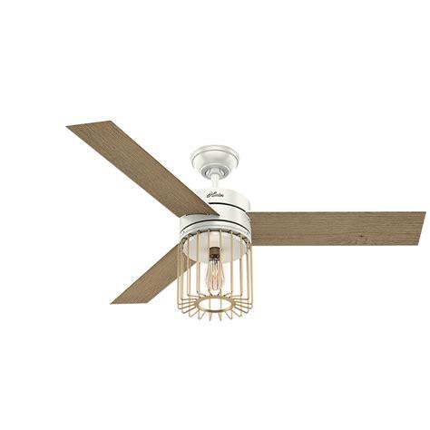 hunter ronan ceiling fan hunter 59238 ronan contemporary white grain aged oak led
