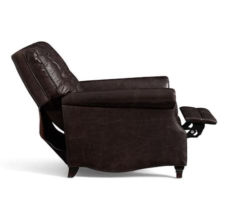 Pottery Barn Recliner by Patterson Leather Recliner Pottery Barn