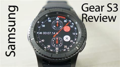 Samsung Frontier Smartwatch samsung gear s3 frontier smartwatch review