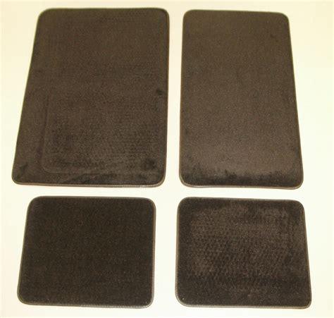 Ford Bronco Floor Mats 1980 1996 ford bronco 4 floor mat kit black